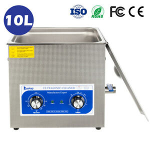 Quickly And Thoroughly Ultrasonic Cleaner Heater For Lab Dental 10l
