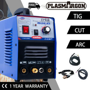 Pilot Arc Plasma Cutter Mma Tig Welder Cnc Compatible Ct312 3 In 1 Machine