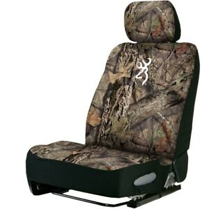 Browning Country Neoprene Camo Seat Cover Universal Low Back Seat Cover