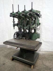 Allen Multi spindle Drill Press 4 Heads 27 21 X 46 Table 03190350001