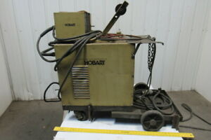 Hobart Fabstar 4030 Mig Welder Package W 2210 Wire Feeder Cords 230 460v 3ph