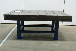Cast Iron Welding Layout Inspection Work Table Bench 70 1 4 x50 x31 Web Top