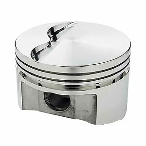 Srp Small Block Chevy 350 400 Flat top Pistons 138094m 6 Rod 3 750 Stroke