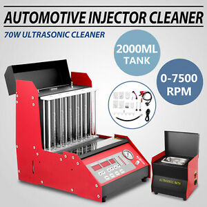 New Auto Ultrasonic Fuel Injector Tester Cleaner For Petrol Car