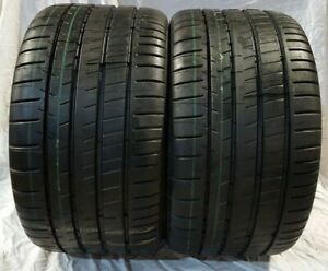 2 Brand New 295 30zr19 Michelin Pilot Super Sport 100y Pair