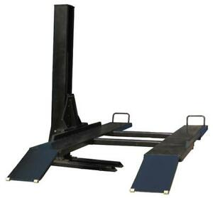 6 000lb Single Post Vehicle Storage Lift Sp 6k ss Free Shipping