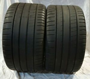2 Michelin 295 30zr19 Michelin Pilot Super Sport 100y Pair New Take Off 2