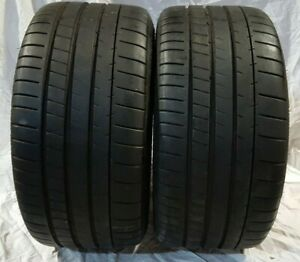 2 Michelin Pilot Super Sport 255 35zr18 94y Pair Take Off