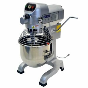 Atosa Usa Ppm 20 Floor Model Commercial Planetary Mixer 21 Qt Capacity 3 spee