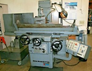 Okamoto 820n Precision Surface Grinder With 8 X 20 O s Walker Control