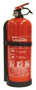 Fire Extinguisher Abc Powder 2kg Personal Protection Site Safety