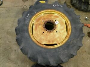 Pair Of 9 Bolt Tractor Firestone F151 Field Road 18 4 X 34 Tires Tag 90527
