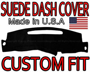 Fits1998 1999 2000 2001 2002 2003 2004 2005 Chevrolet S10 Suede Dash Cover Black