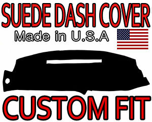 Fits 1997 1998 Gmc Sierra Suede Dash Cover Mat Dashboard Pad Black