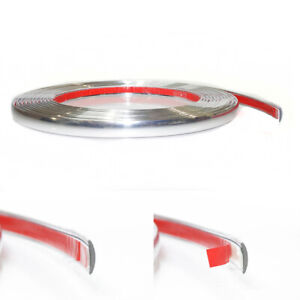 3m Car Chrome Styling Decoration Moulding Trim Strip Tape Protector Cover 8mm