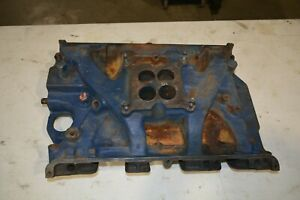 Ford 390 Gt Cast Iron 4 Barrel Intake Manifold S code Fe Mustang Cougar 66 67