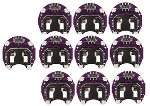 Lilypad Arduino 10 Pack Of Coin Cell Cr2032 Battery Holderswith Switch Save