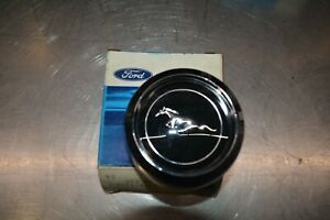 Nos 69 Ford Mustang Magnum 500 Chrome Wheel Center Cap C9zz 1130 E New In Box