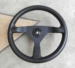 Momo Monte Carlo 350mm Steering Wheel Fiat Innocenti K4014 Hub