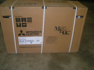 Mitsubishi Electric Split System Heat Pump Size 37 X 15 X 24 1 2 Muz fh09na New