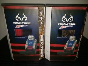 Realtree Americana Edge Camo Lowback Universal Complete Set Of 2 Seat Covers