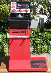 Snap On Motorcycle Wheel Tire Balancer Wbm250 Changer 115v
