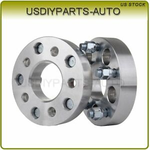 2pcs 1 25 Adapter 5x4 5 To 5x5 Wheel Spacers 1 2 Fit 2002 2011 Jeep Liberty
