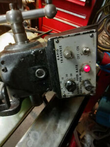 Bridgeport Series 1 8f Power Feed With All Parts Great Condition
