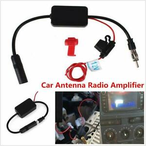 12v Cars Trucks Stereo Antenna Fm Am Radio Inline Signal Amp Amplifier Booster