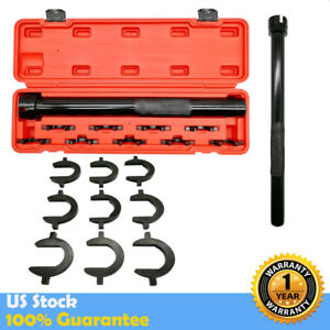 9pc Universal Inner Tie Rod End Installer Remover Tool Set Adjuster Cars 1 2 Dr
