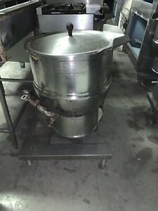 Groen Dee 4 20 Commercial 20 Gallon Electric Steam Jacketed Tilting Kettle