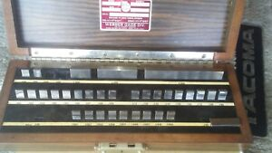 Starrett Webber 32pc Gage Block Set Missing Two Rs36a1