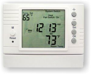 Programmable Digital Thermostat For Hydronic Radiant Floor Heating