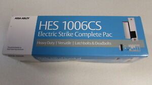 Hes 1006 Electric Strike W Faceplate 1006cs 12 24d 630 Nib 60 Day Returns