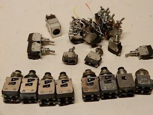 Micro Switch Snap Push Button And Toggle Lot Huge Amount 2pb11 6at3 6at2