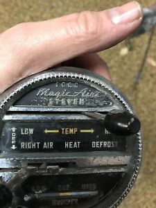 1955 Ford Fairlane Heater Control With Levers And Cables