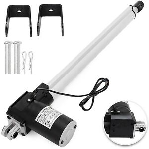 14 Stroke Linear Actuator Dc 24v Electric Motor 6000n Window Lifting Table Door