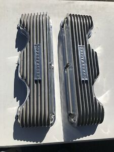 Chevy Chevrolet 348 409 Offenhauser Valve Covers