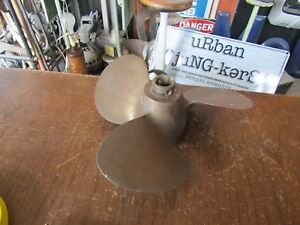 Brass 3 Blade Propeller By Michigan 9 Smc 64 8 3