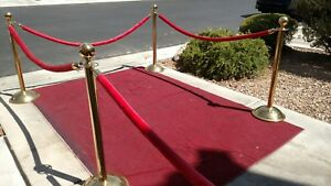 Stanchions From The Las Vegas Stardust Hotel Casino Vintage