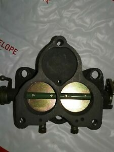 Ford Holley 94 New Carburetor Throttle Body