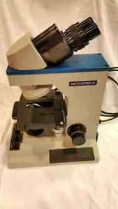 Reichert Microstar Iv Model 410 Microscope With 4 Objectives