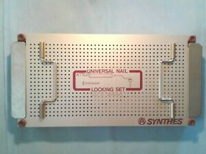 Synthes 115 53 Universal Nail Locking Set Complete Set Excellent Condition