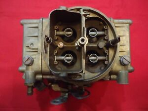 Holley 4224 S 660 Cfm Center Squirter Dual Quad Tunnel Ram Carburetor