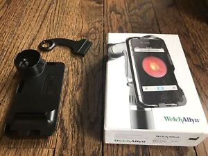 Original Welch Allyn Panoptic Ophthalmoscope Iexaminer Adopter Complete Set