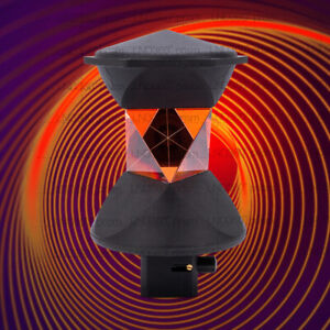 New 360 Degree Reflective Prism Set For Leica Atr Total station Replaces Grz4