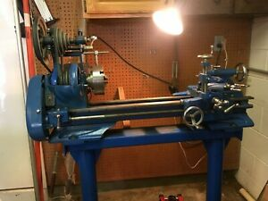 Atlas Press Company 10f28 6 Metal Lathe Cutting Tools Milling Attachment