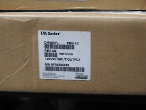 New In Box Foxboro I a Series 120 Vac Input output Dm400yl Fbm 10 Rev 0a
