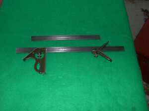 Lufkin 18 12 Blade 5 piece Olive Green Combination Square Set With Scribe