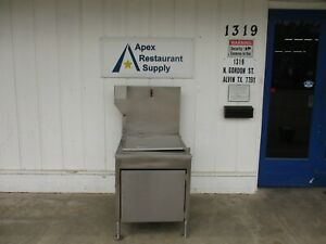 Used Gas Donut Fryer Natural Gas New Thermostat Works Great 4058